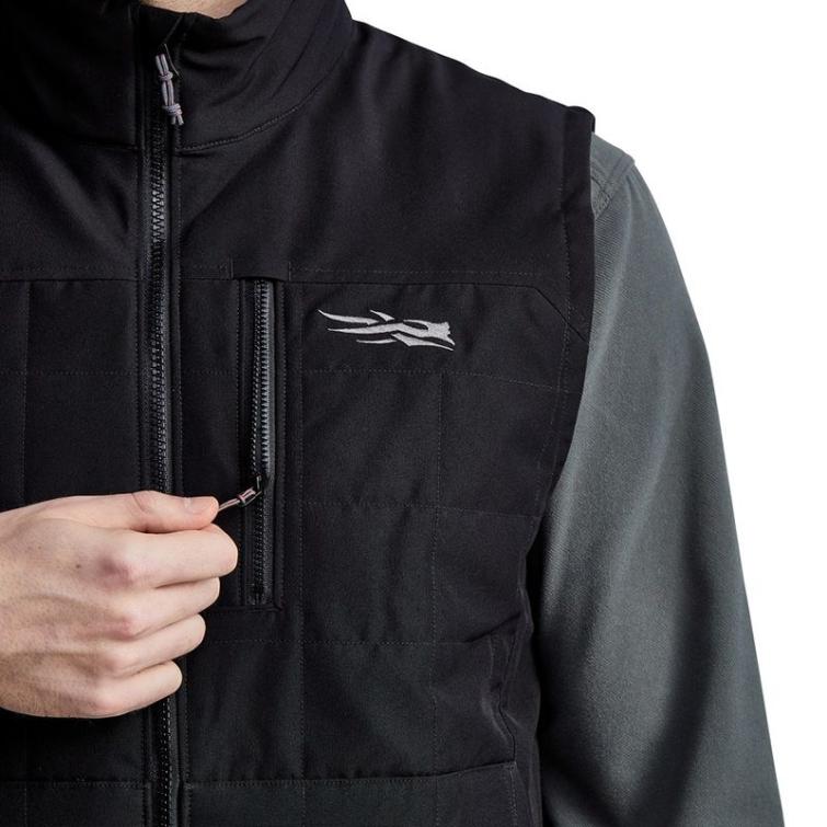 Жилет SITKA Grindstone Work Vest цвет Black фото 3