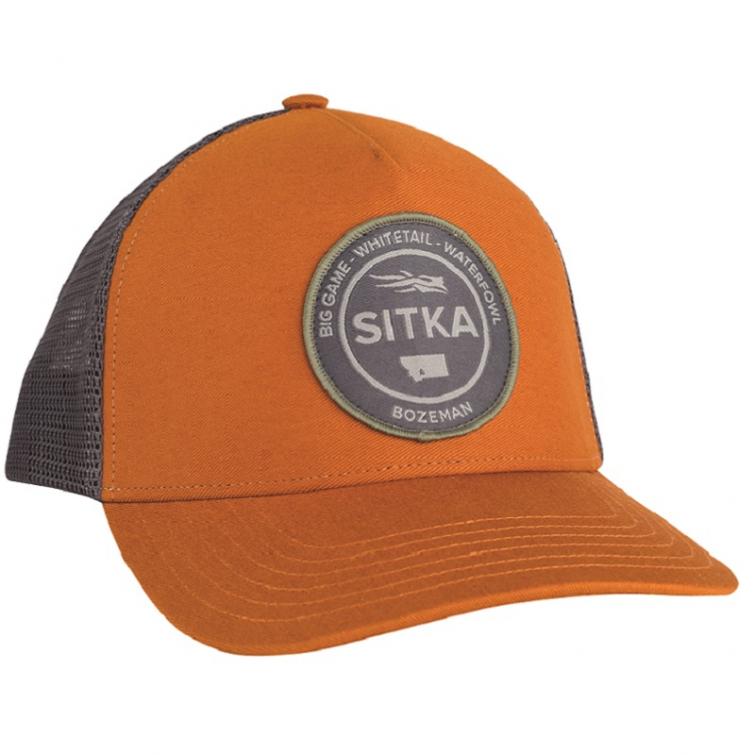 Бейсболка SITKA Seal Five Panel Patch Trucker цвет Rust фото 1