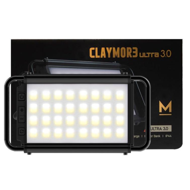 Фонарь кемпинговый CLAYMORE Ultra 3.0 M цв. Black фото 1