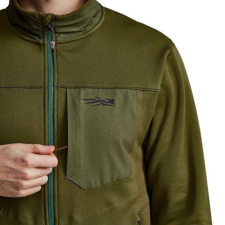Джемпер SITKA Dry Creek Fleece Jacket цвет Covert фото 5