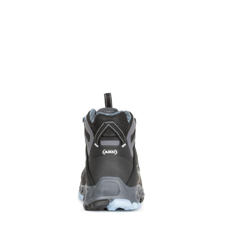 Ботинки треккинговые AKU WS Selvatica Mid GTX цвет Black / Light Blue фото 4