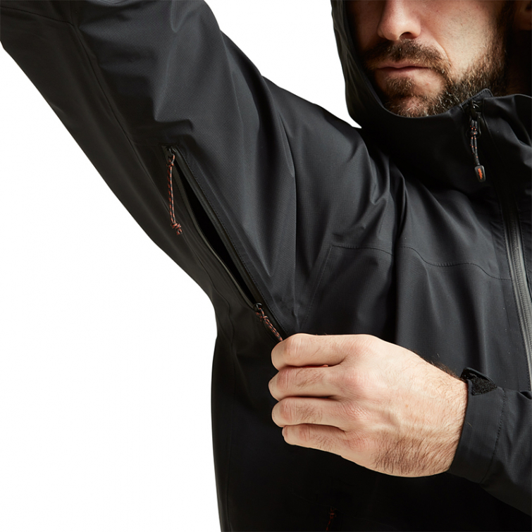 Куртка SITKA Dew Point Jacket New цвет Black фото 4