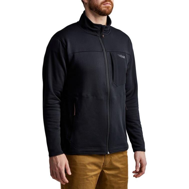 Джемпер SITKA Dry Creek Fleece Jacket цвет Black фото 4