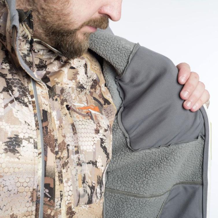 Толстовка SITKA Gradient Jacket цвет Optifade Marsh фото 2