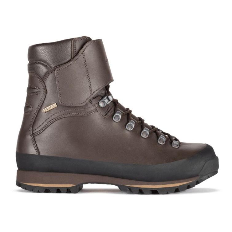 Ботинки охотничьи AKU Jager Evo Low GTX цвет Brown фото 5