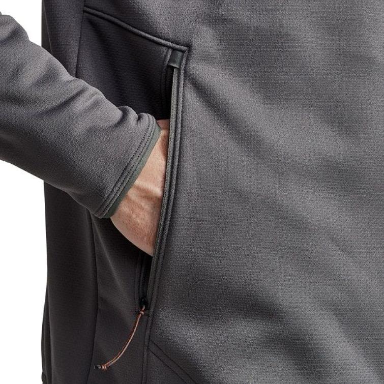 Джемпер SITKA Dry Creek Fleece Jacket цвет Shadow фото 7