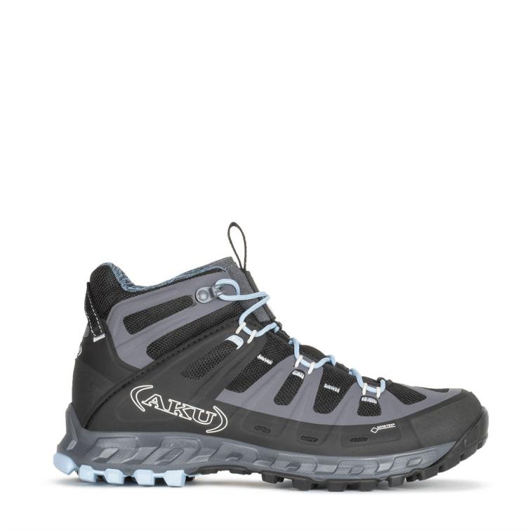 Ботинки треккинговые AKU WS Selvatica Mid GTX цвет Black / Light Blue фото 5