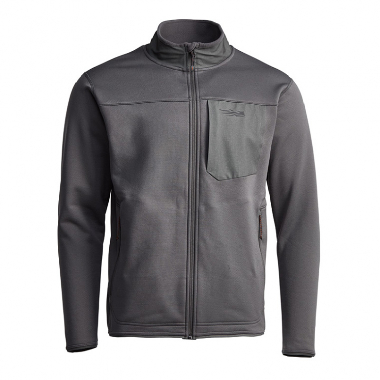 Джемпер SITKA Dry Creek Fleece Jacket цвет Shadow фото 8