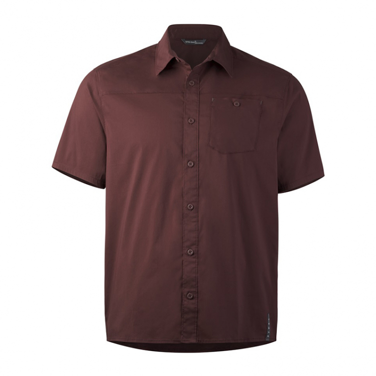 Рубашка SITKA Shop Shirt SS цвет Bitter Root фото 1