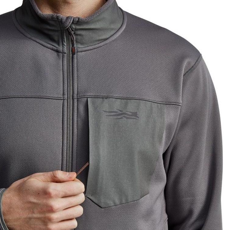 Джемпер SITKA Dry Creek Fleece Jacket цвет Shadow фото 5