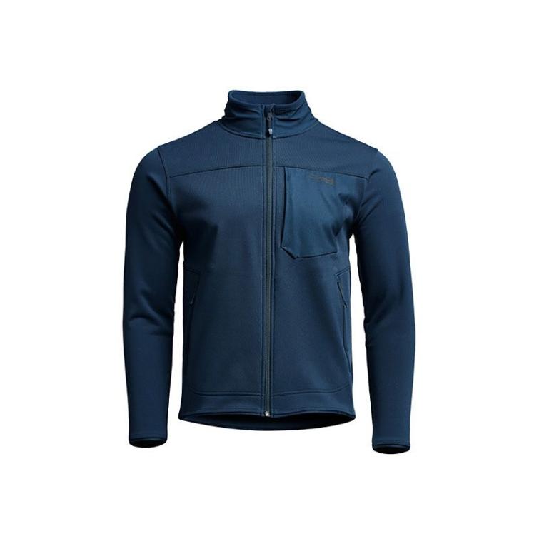 Джемпер SITKA Dry Creek Fleece Jacket цвет Deep Water фото 1