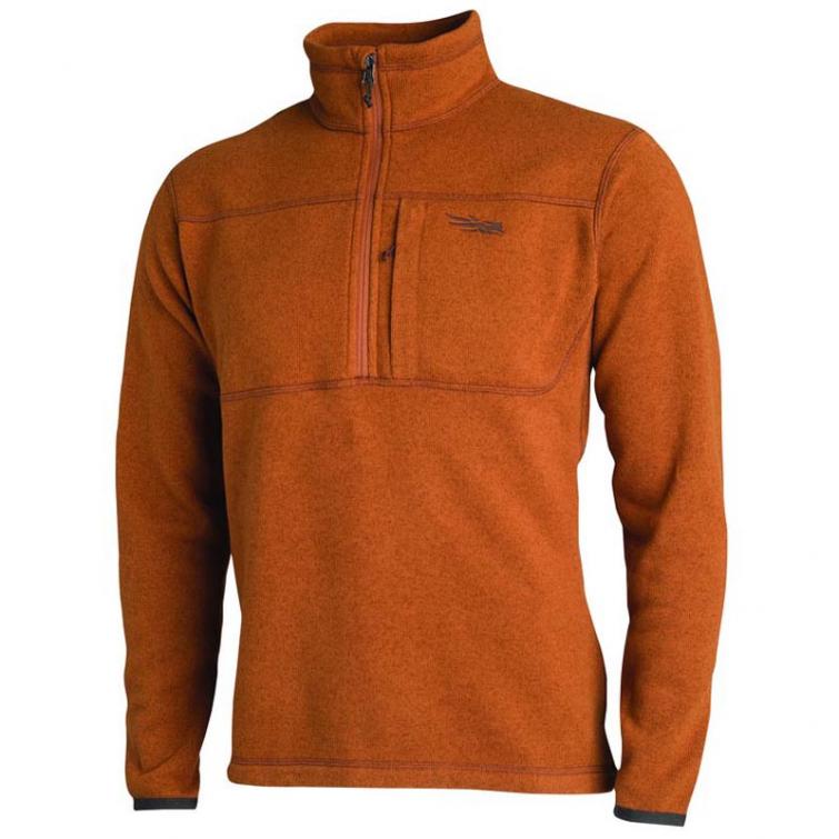 Джемпер SITKA Fortitude Half-zip цвет Rust фото 1