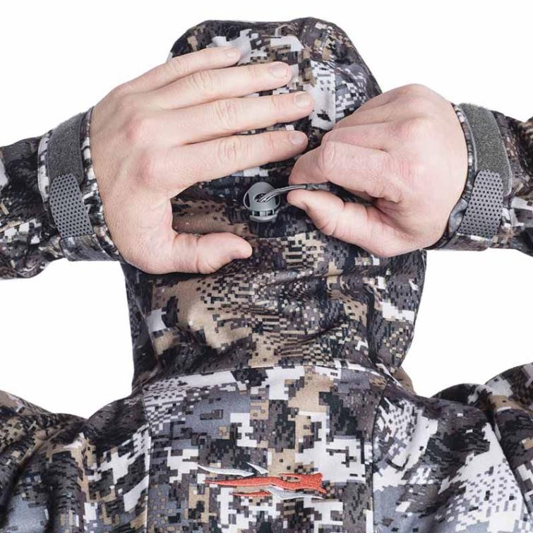 Куртка SITKA Downpour Jacket цвет Optifade Elevated II фото 6