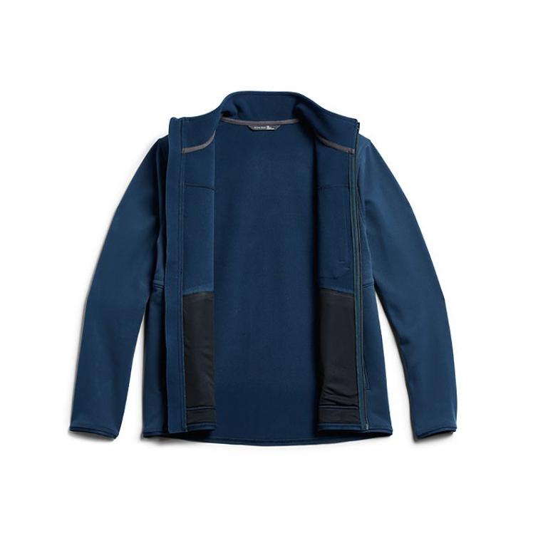 Джемпер SITKA Dry Creek Fleece Jacket цвет Deep Water фото 6