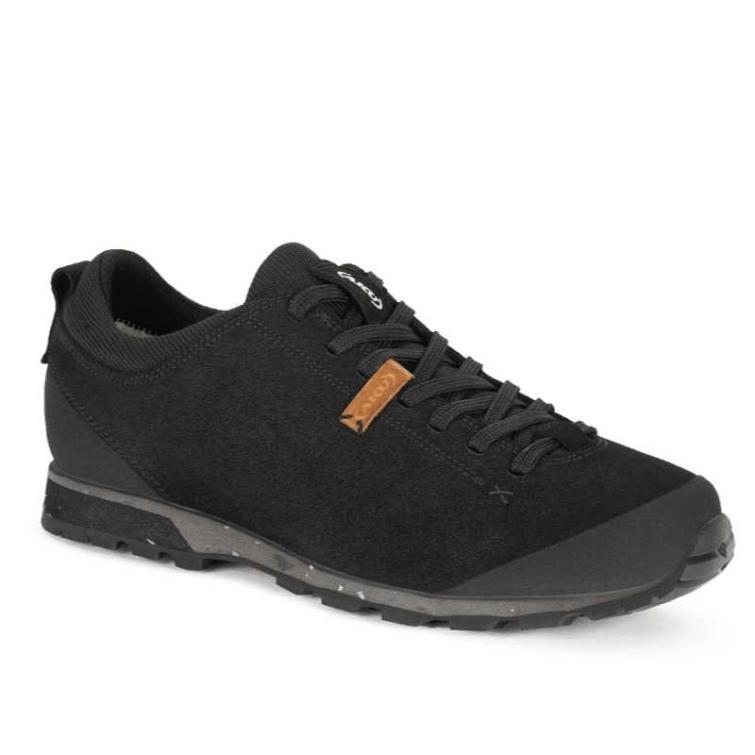 Кроссовки треккинговые AKU Bellamont III Suede цвет Black фото 1