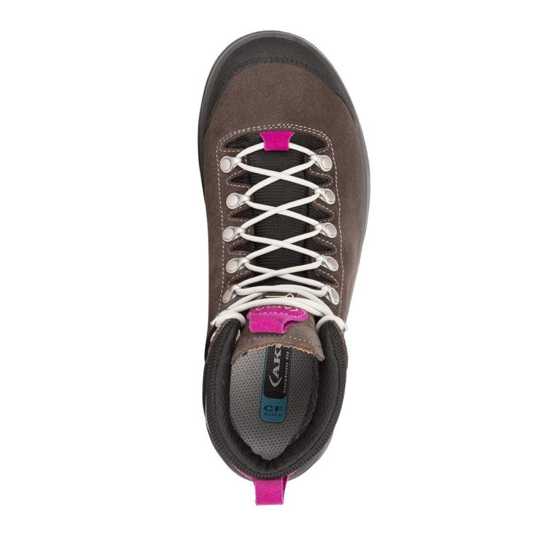 Ботинки треккинговые AKU WS La Val Lite GTX цвет Grey / Magenta фото 2