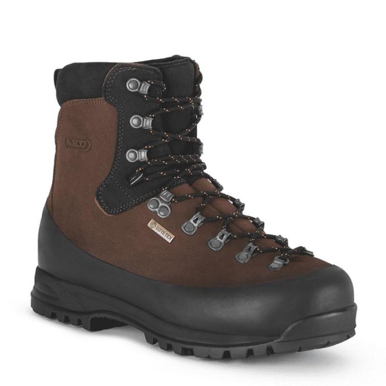 Ботинки охотничьи AKU Utah Work GTX цвет Brown фото 1