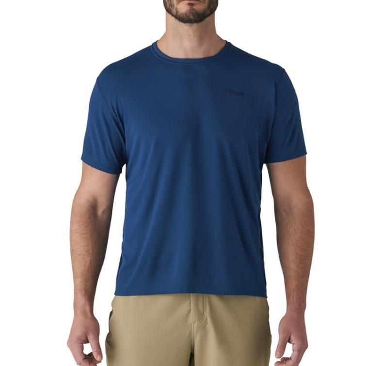 Футболка SITKA Basin Work Shirt SS цвет Admiral Blue фото 6
