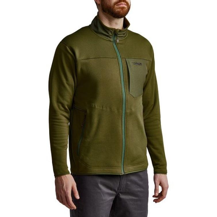 Джемпер SITKA Dry Creek Fleece Jacket цвет Covert фото 2