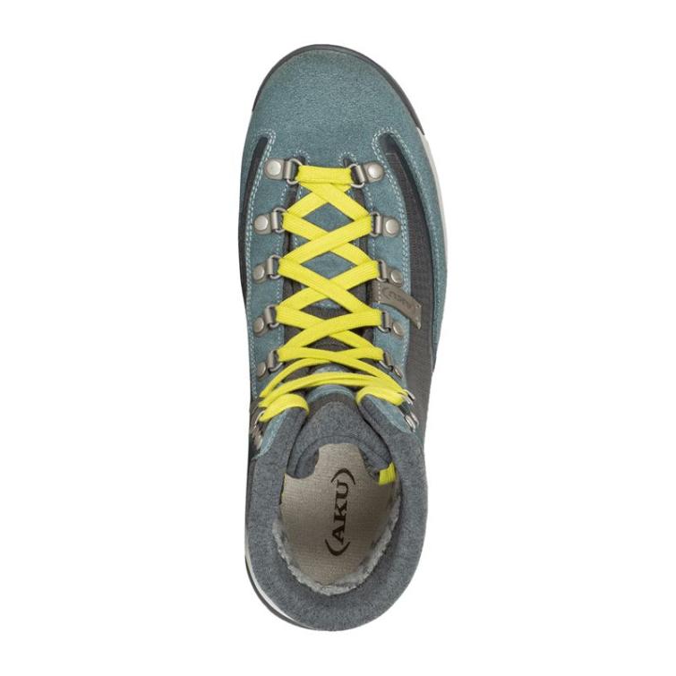 Ботинки треккинговые AKU WS Riva High GTX цвет Grey / Avio фото 2