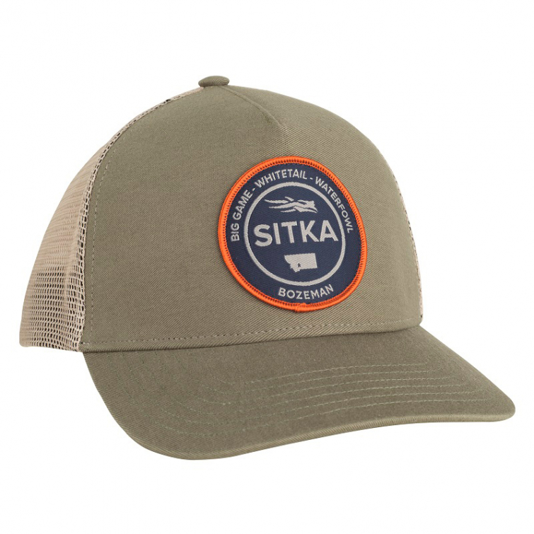 Бейсболка SITKA Seal Five Panel Patch Trucker цвет Cargo фото 1