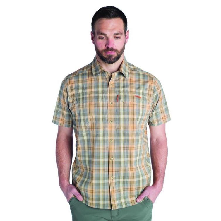 Рубашка SITKA Globetrotter Shirt SS цвет Twill Plaid фото 3