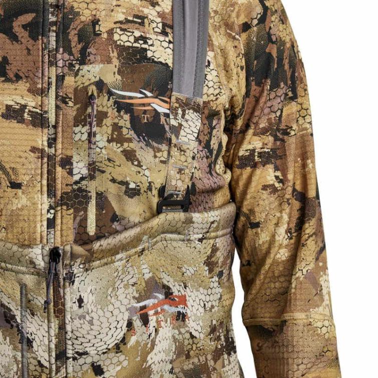 Полукомбинезон SITKA Gradient Cold Weather Bib цвет Optifade Waterfowl фото 2