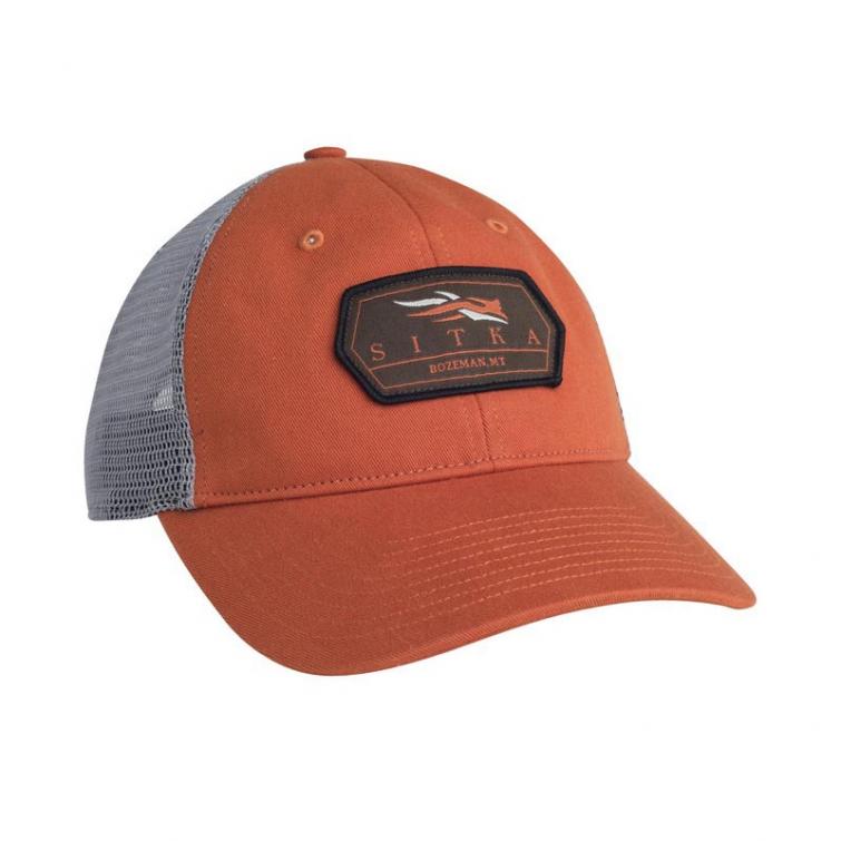 Бейсболка SITKA Meshback Trucker Cap цвет Burnt Orange фото 1