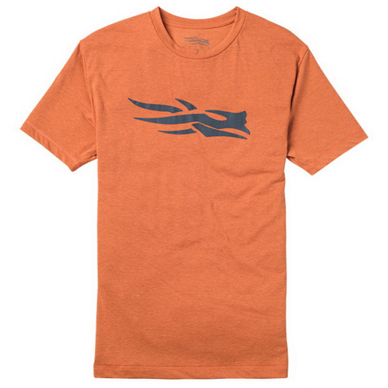 Футболка SITKA Logo Tee SS цвет Burnt Orange фото 1