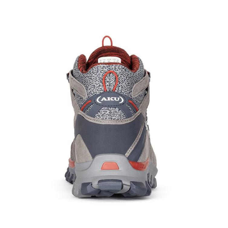 Ботинки треккинговые AKU Alterra Lite Mid GTX цвет Grey / Red фото 5