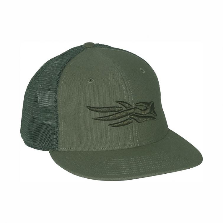 Бейсболка SITKA Flatbill Cap цвет Forest фото 1