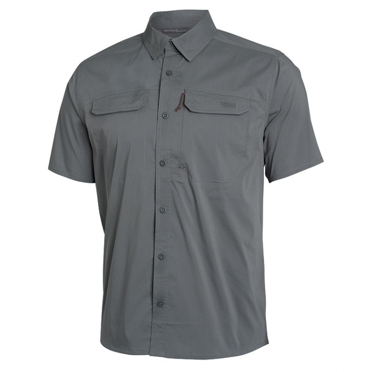 Рубашка SITKA Globetrotter Shirt SS цвет Shadow фото 1