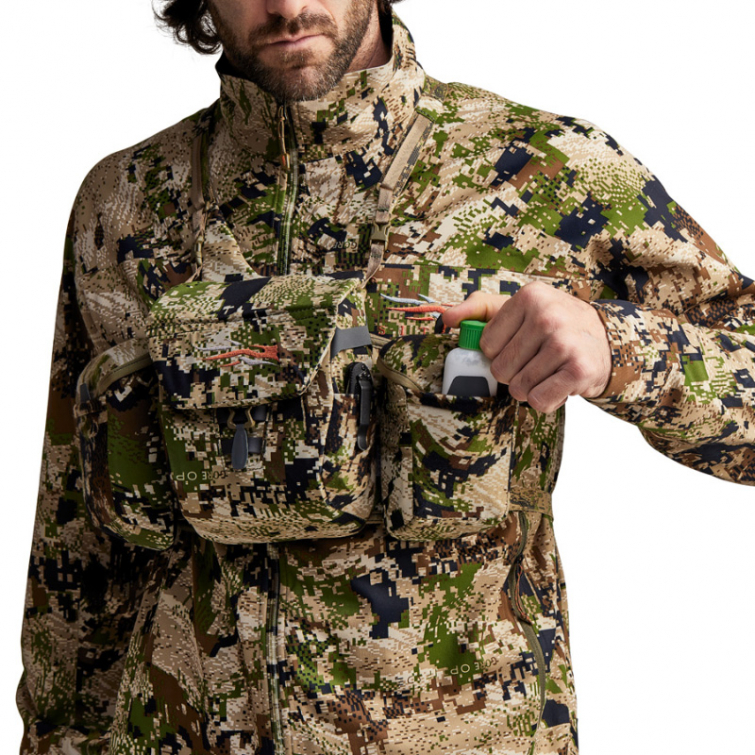 Чехол для бинокля SITKA Mountain Optics Harness цв. Optifade Subalpine р. one size фото 6