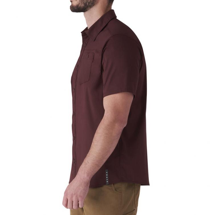 Рубашка SITKA Shop Shirt SS цвет Bitter Root фото 3