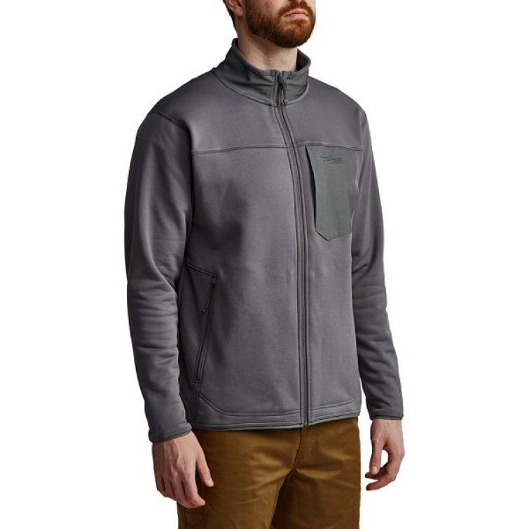 Джемпер SITKA Dry Creek Fleece Jacket цвет Shadow фото 3