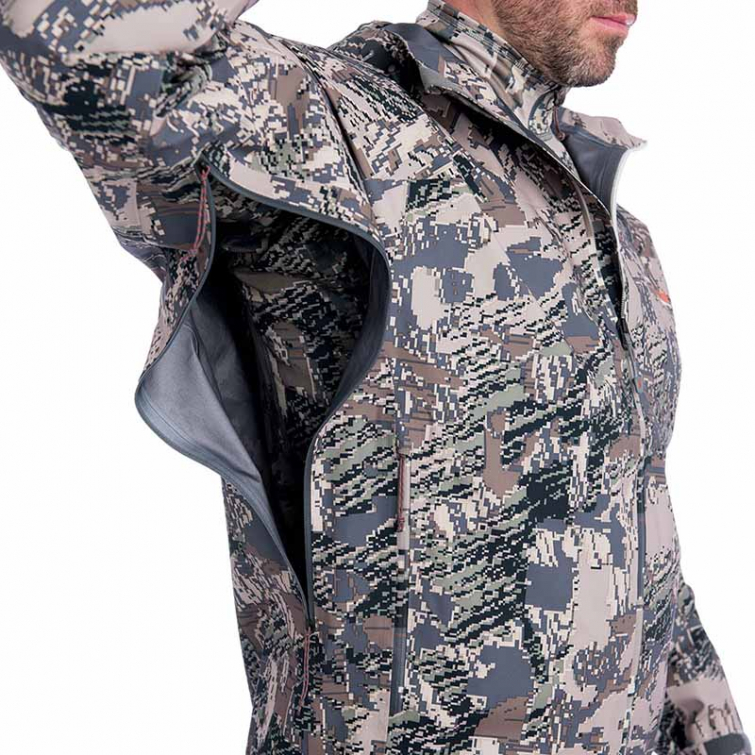 Куртка SITKA Cloudburst Jacket New цвет Optifade Open Country фото 4