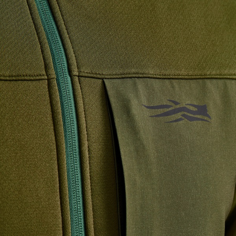 Джемпер SITKA Dry Creek Fleece Jacket цвет Covert фото 6