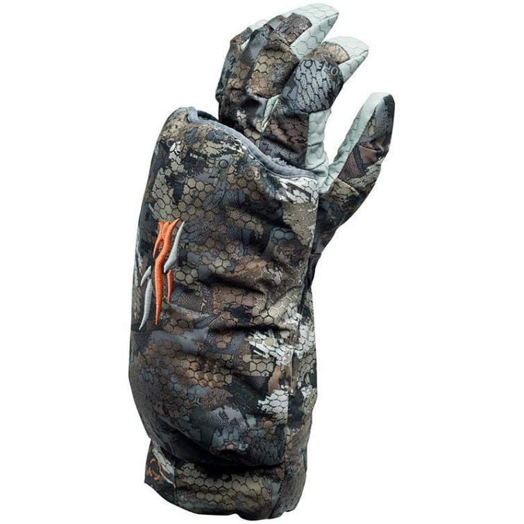 Перчатка-муфта SITKA Callers Glove Left цвет Optifade Timber фото 1