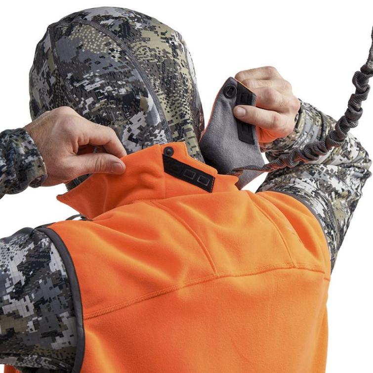 Жилет SITKA Stratus Vest New цвет Blaze Orange фото 3