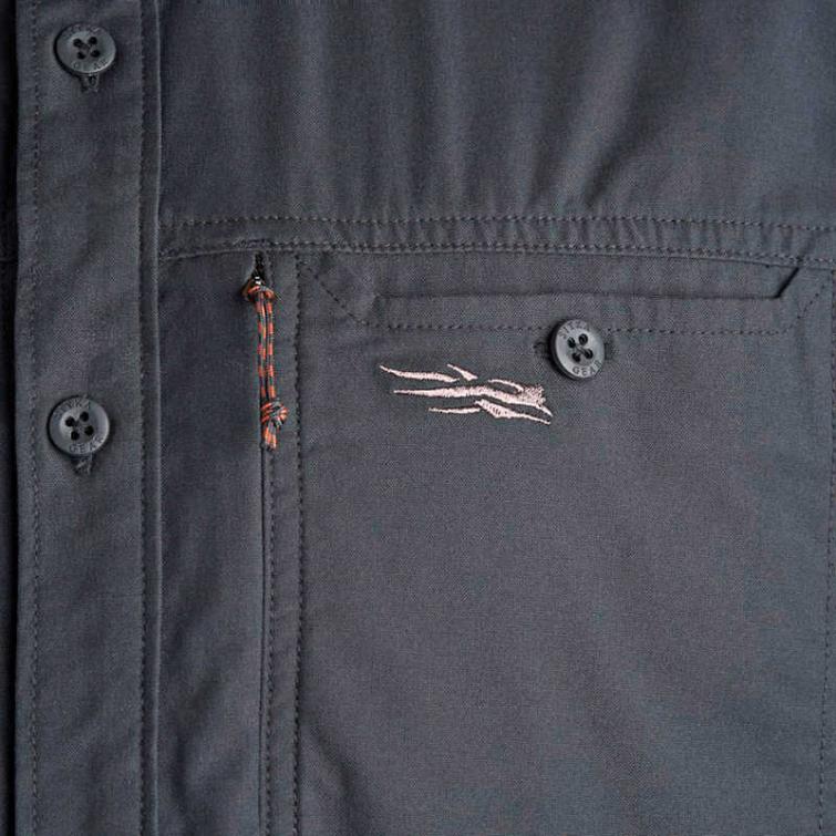 Рубашка SITKA Harvester Shirt цвет Black фото 3