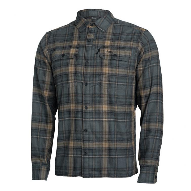 Рубашка SITKA Frontier Shirt цвет Sandstone Plaid фото 1