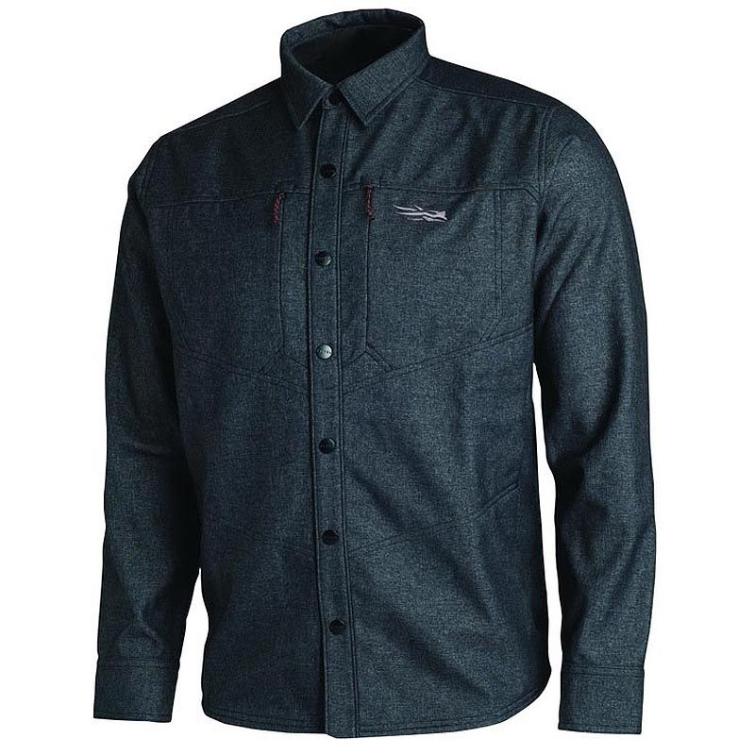Рубашка SITKA Highland Overshirt цвет Black фото 1