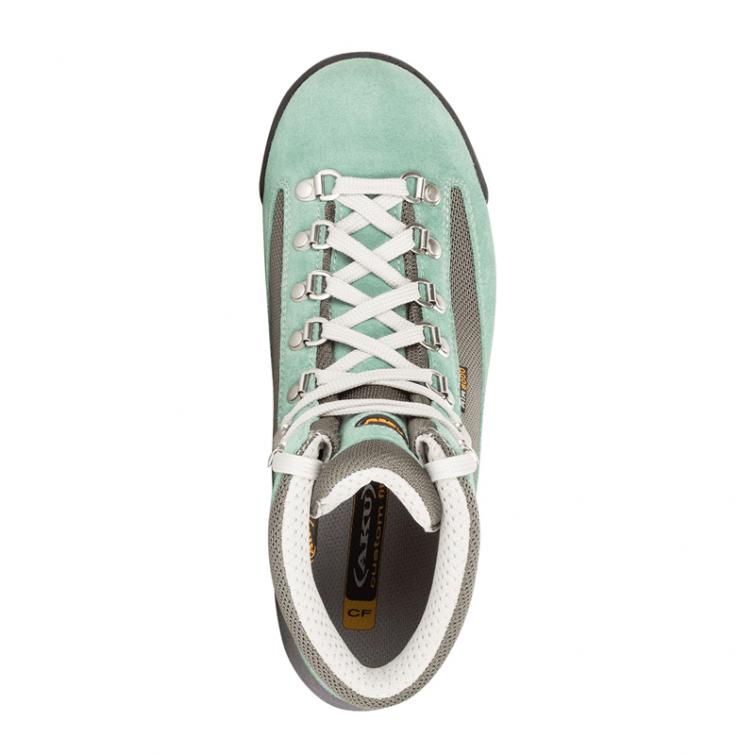 Ботинки треккинговые AKU WS Ultralight Micro GTX цвет Grey / Aquamarine фото 2