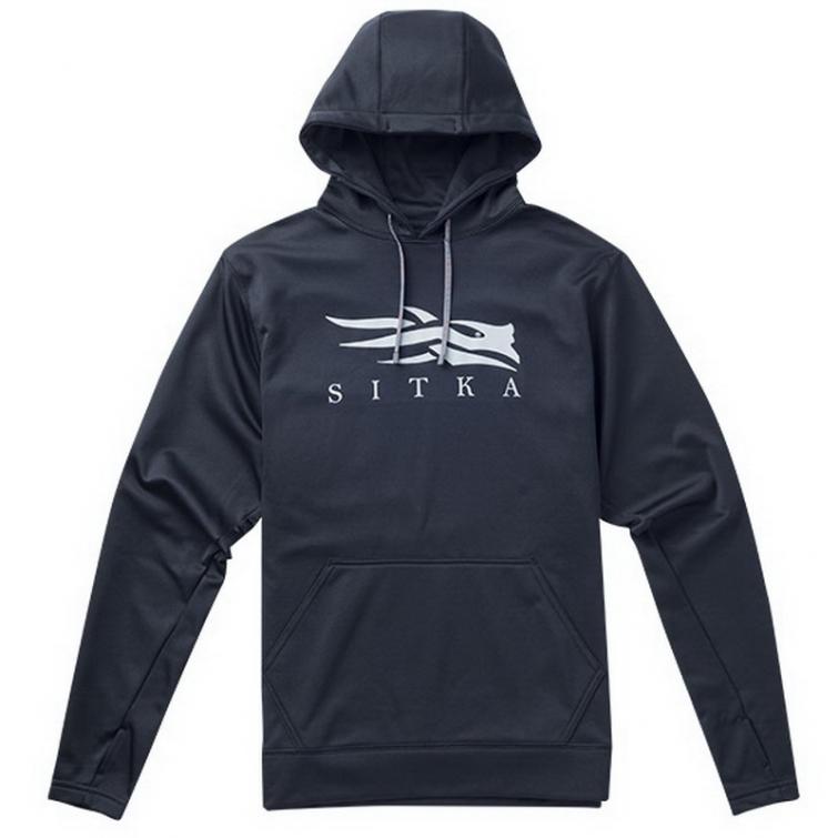 Толстовка SITKA Logo Hoody цвет Black фото 1