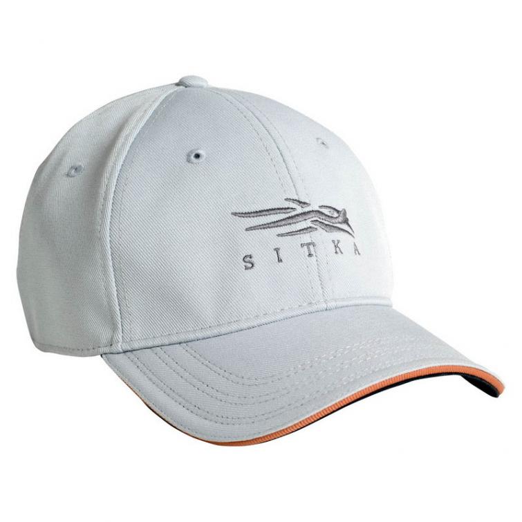 Бейсболка SITKA Fitted Cap цвет Ash фото 1