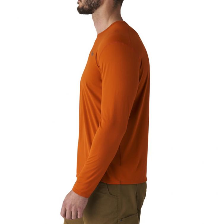 Футболка SITKA Basin Work Shirt LS цвет Burnt Orange фото 4