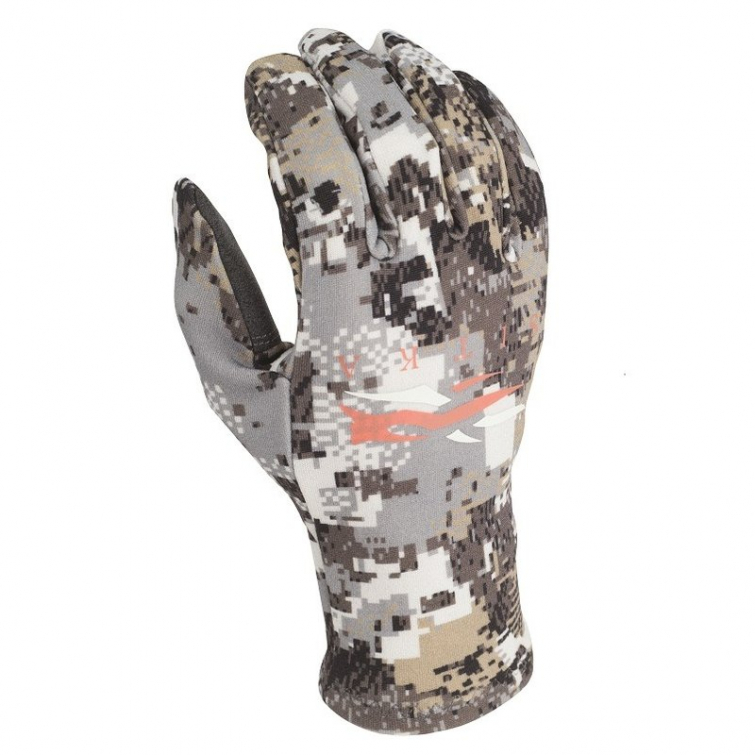 Перчатки SITKA Merino Glove цвет Optifade Elevated II фото 1