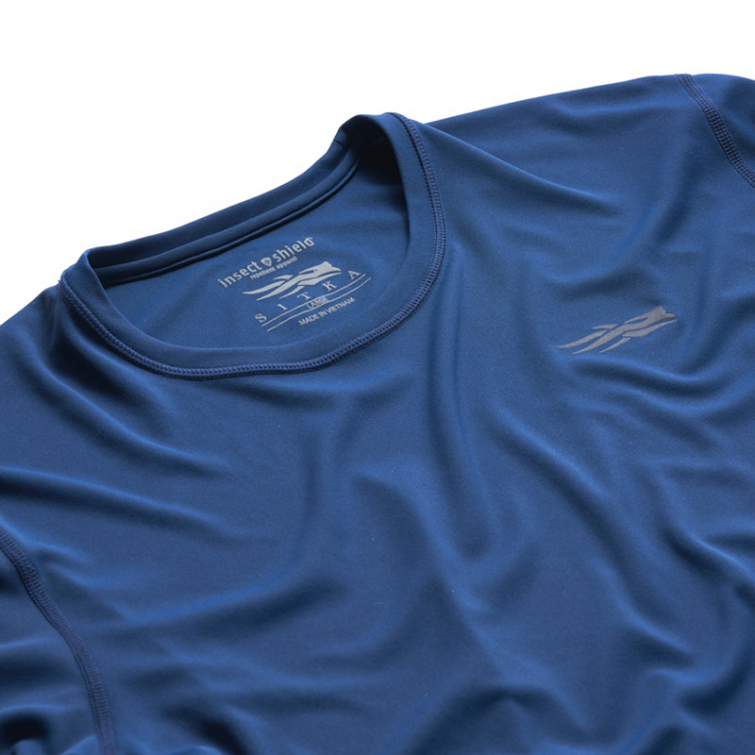 Футболка SITKA Basin Work Shirt SS цвет Admiral Blue фото 2