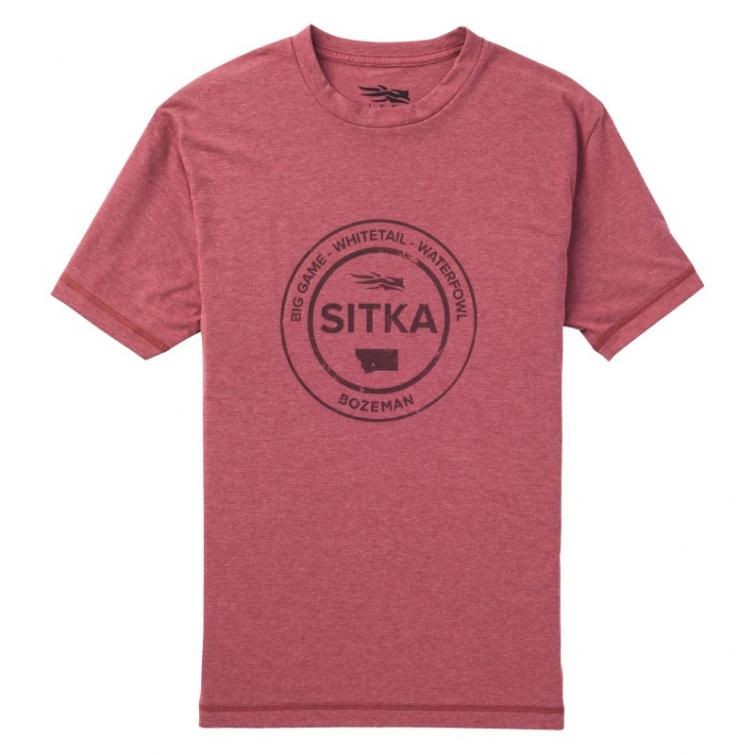 Футболка SITKA Seal Tee SS цвет Red фото 1