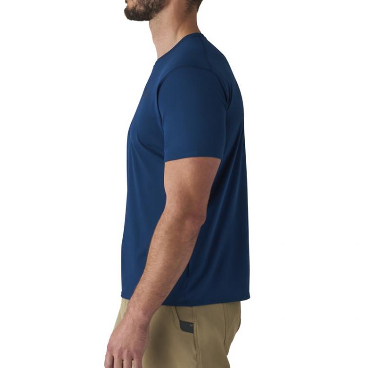 Футболка SITKA Basin Work Shirt SS цвет Admiral Blue фото 4
